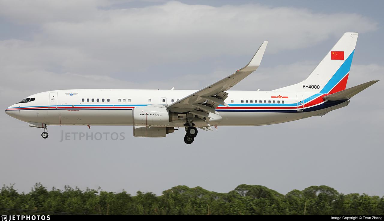 B-4080 - Boeing 737-85N - China - Air Force