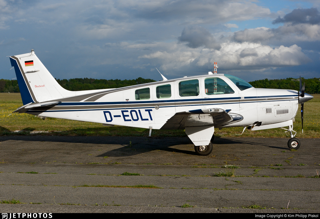 D-EOLT - Beechcraft B36TC Bonanza - Private