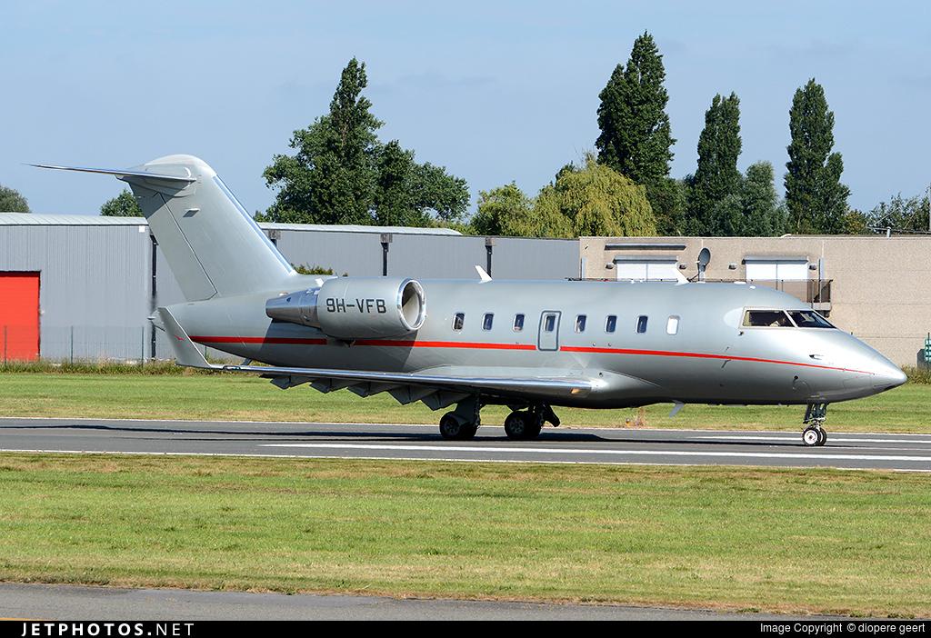 9H-VFB - Bombardier CL-600-2B16 Challenger 604 - VistaJet