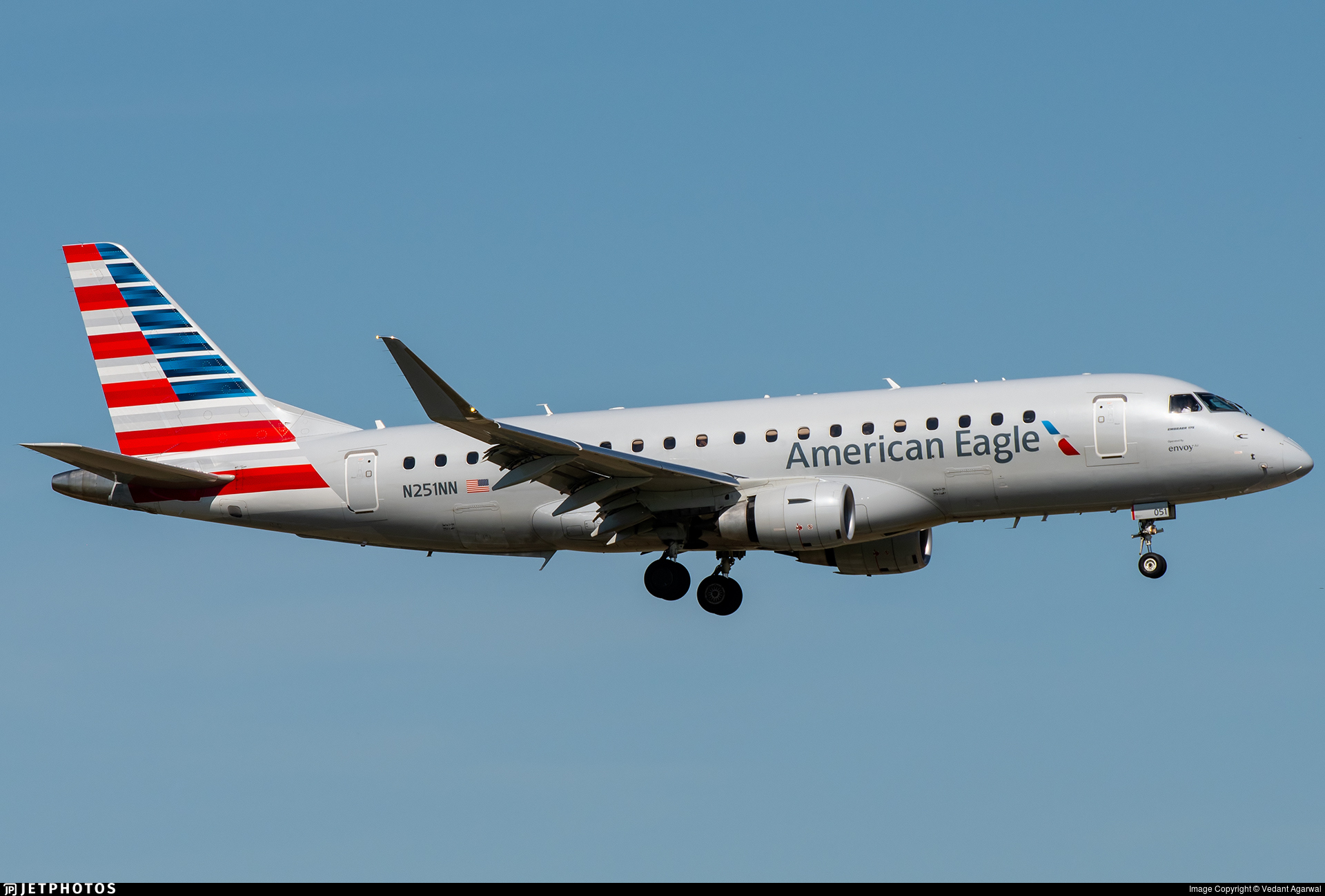 N251NN - Embraer 170-200LR - American Eagle (Envoy Air)