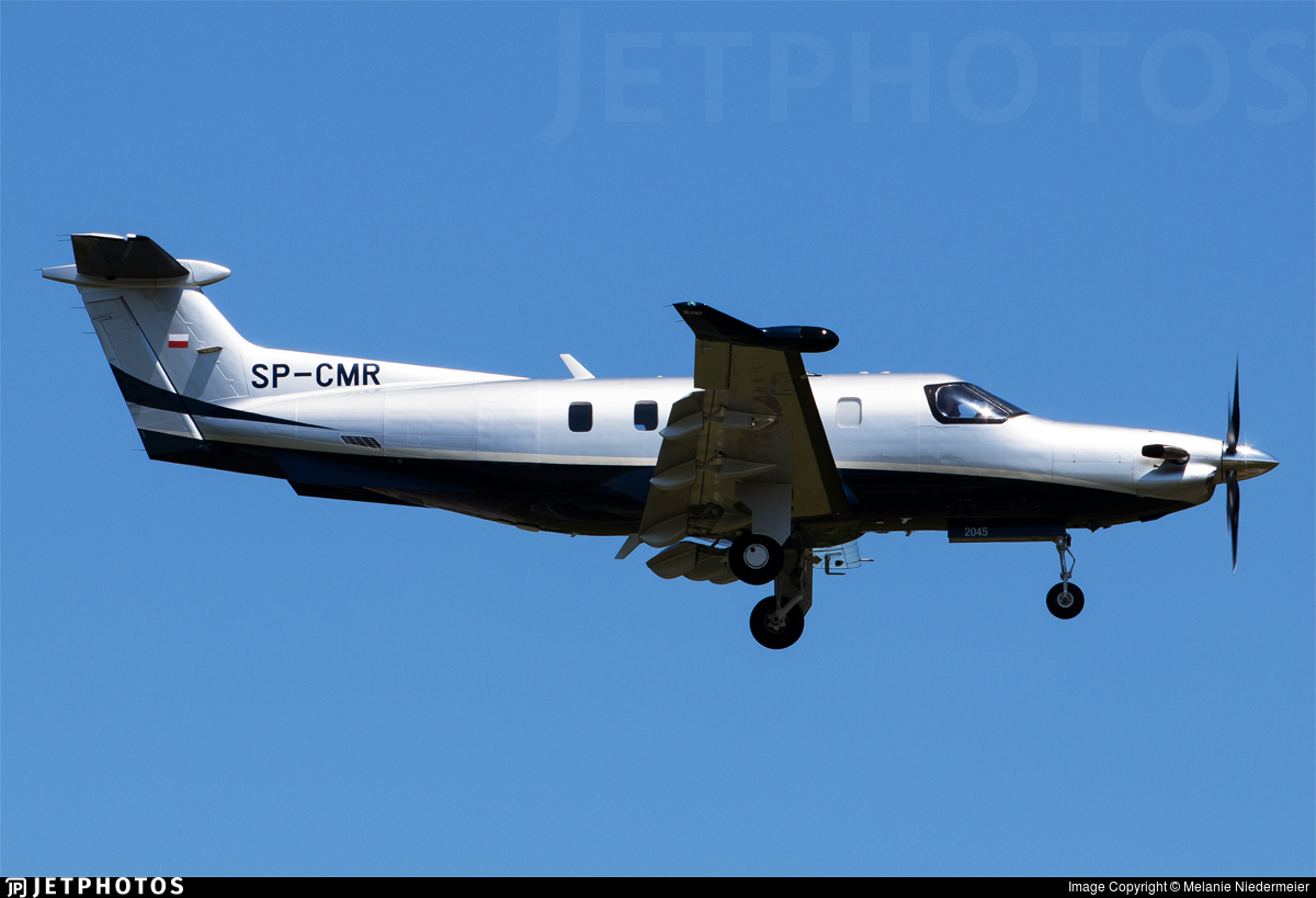 SP-CMR - Pilatus PC-12 NGX - Private