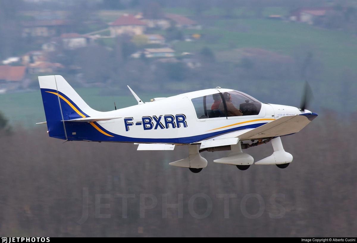 F-BXRR - Robin DR400/140B Major - Aero Club de Morestel