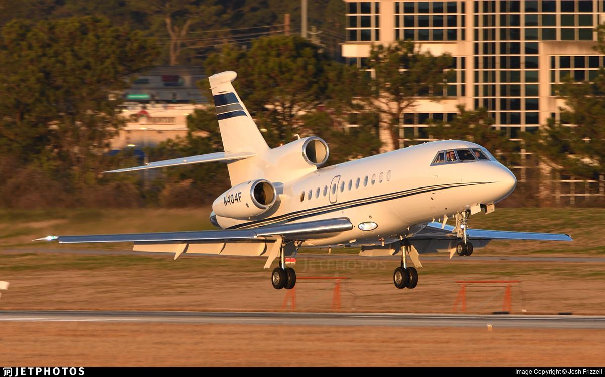 N404F - Dassault Falcon 900EX - Private