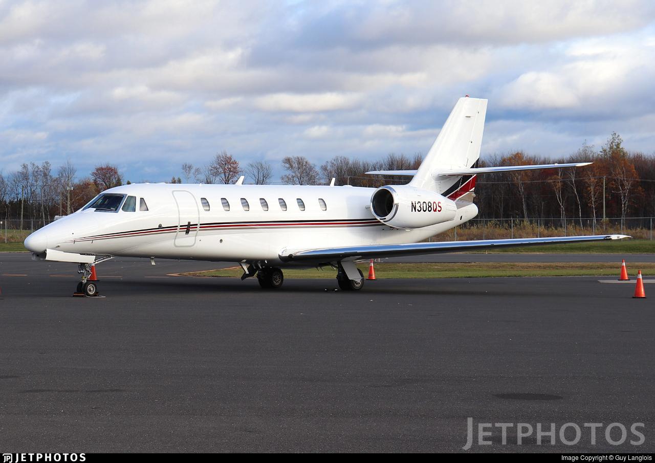 N308QS - Cessna 680 Citation Sovereign - NetJets Aviation