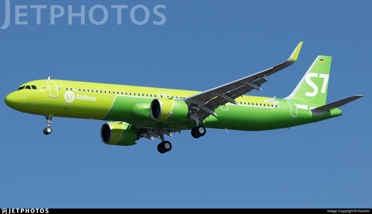 D-AVYF - Airbus A321-271NX - Airbus Industrie