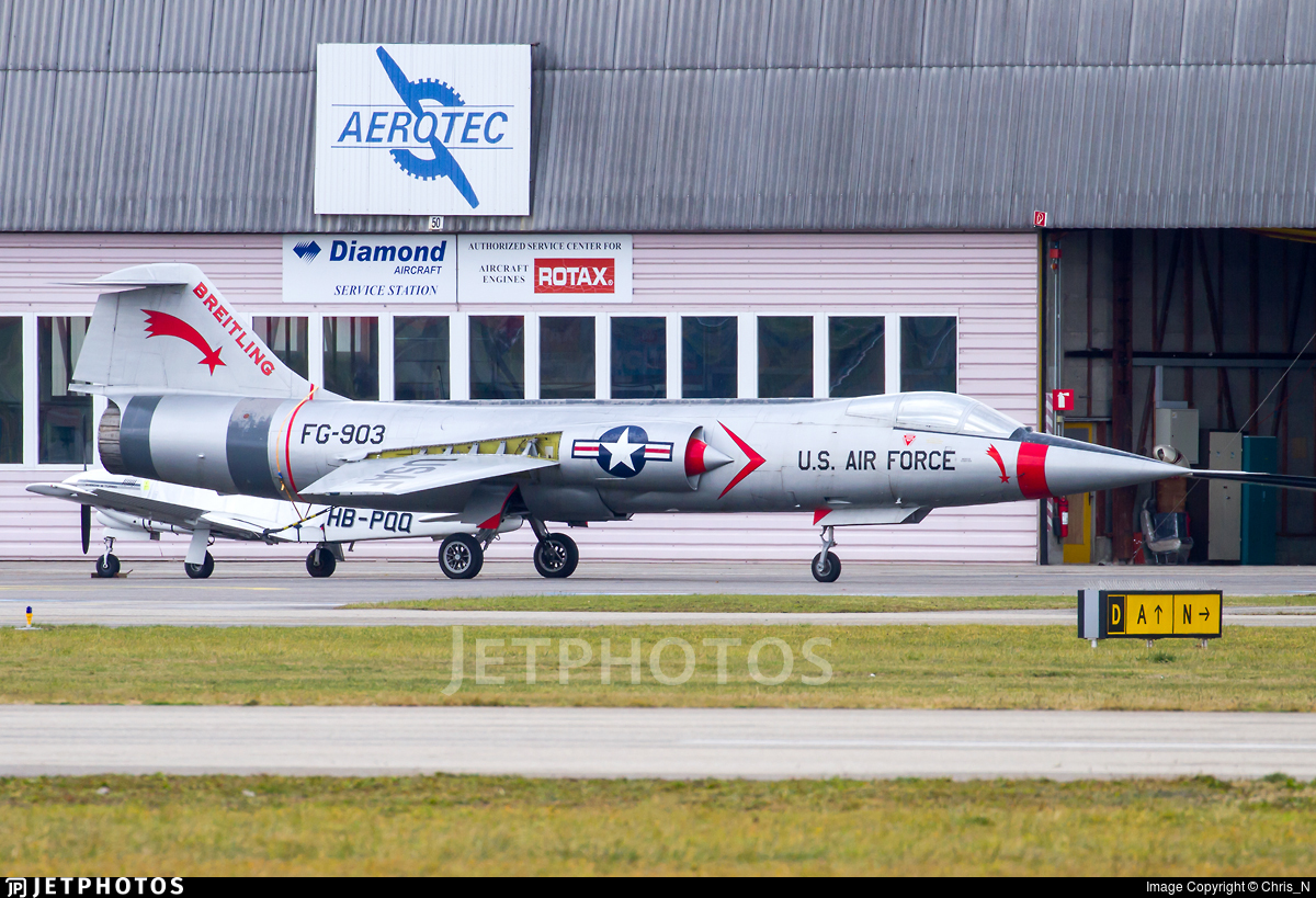 FG-903 - Lockheed F-104 Starfighter - Breitling Fighters