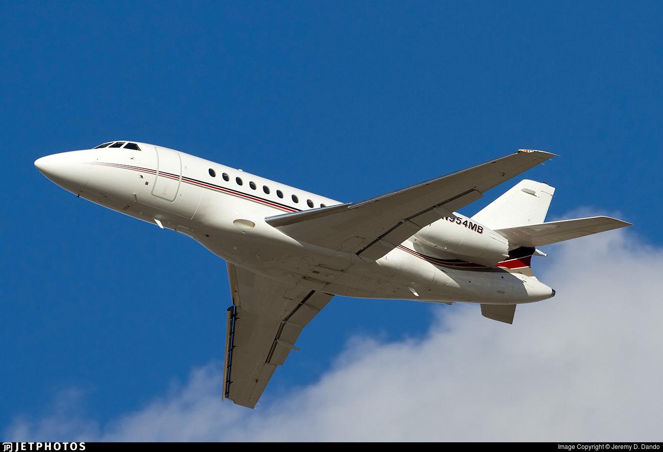 N954MB - Dassault Falcon 2000 - Private