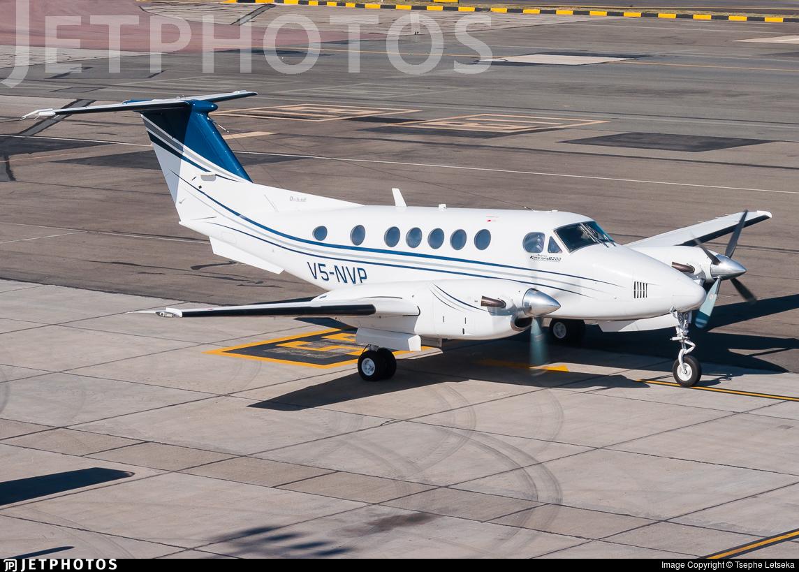 V5-NVP - Beechcraft B200 Super King Air - Private