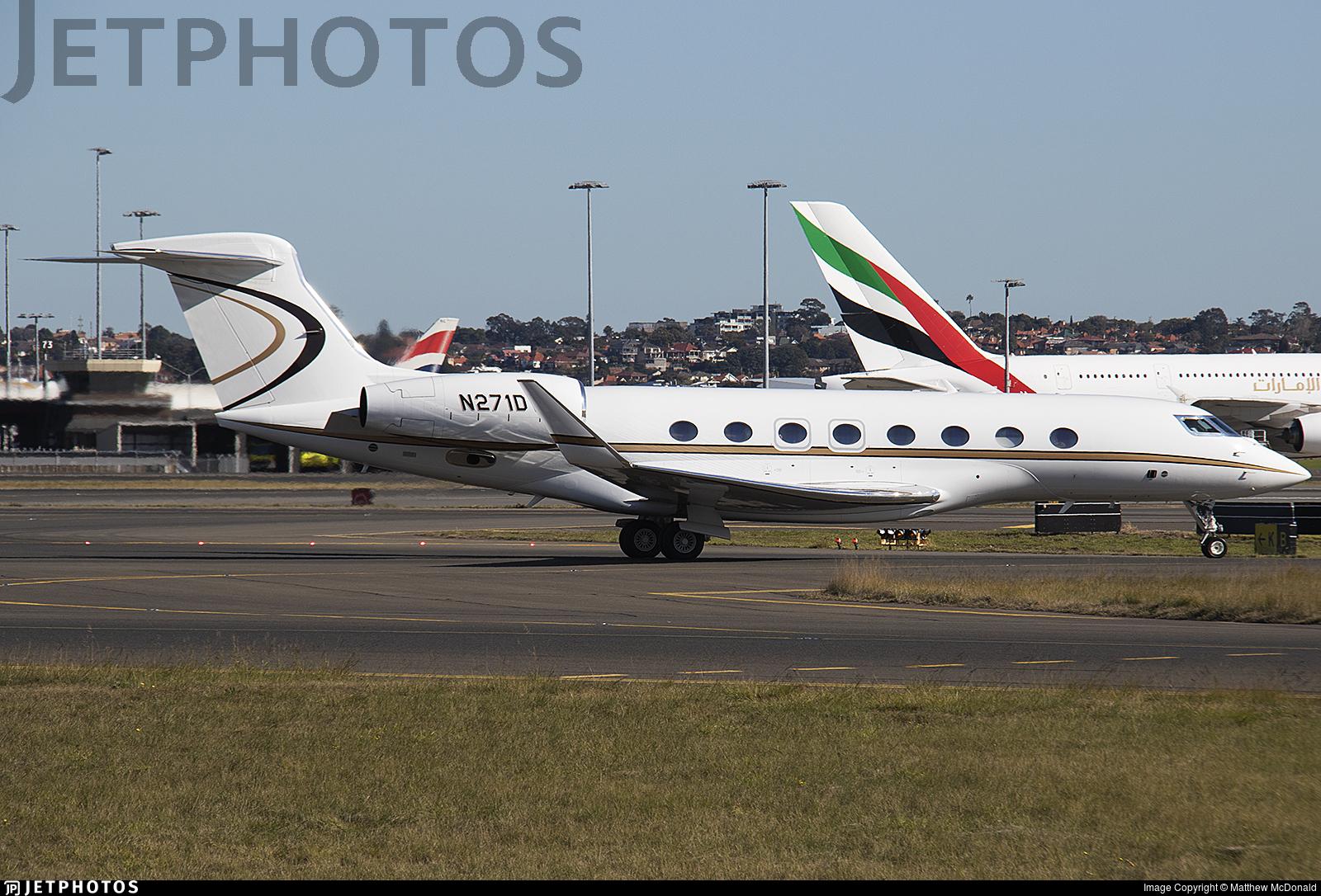 N271DV - Gulfstream G650ER - Private
