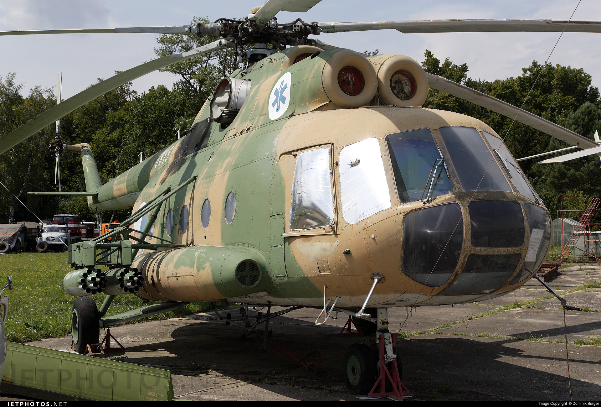0818 - Mil Mi-8T Hip - Czech Republic - Air Force