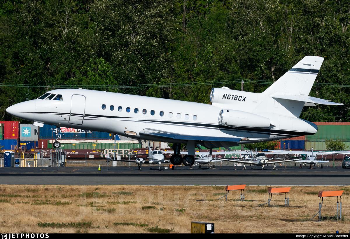 N618CX - Dassault Falcon 900B - Private