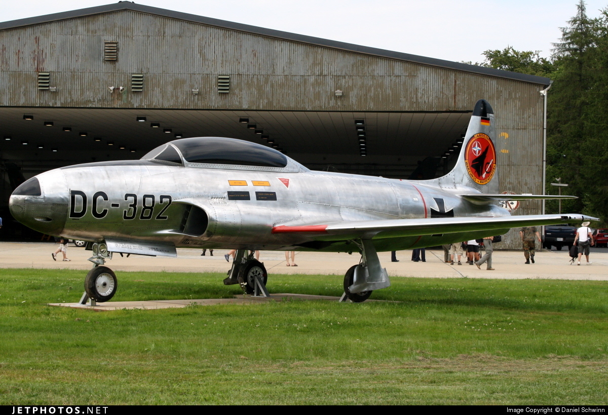 DC-382 - Lockheed T-33A Shooting Star - Germany - Air Force