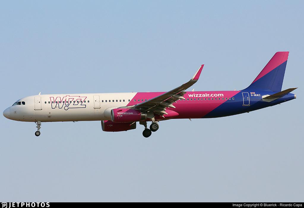G-WUKC - Airbus A321-231 - Wizz Air UK