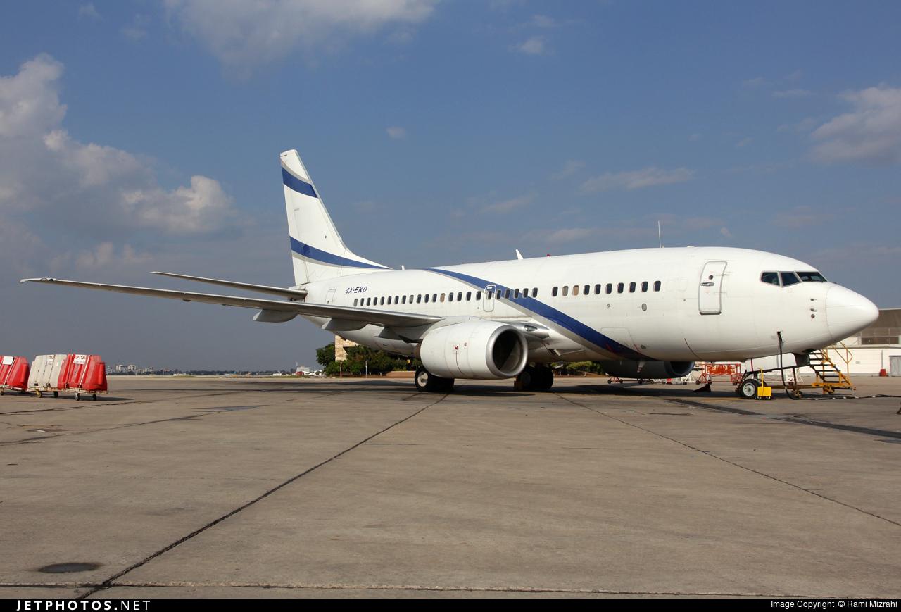 4X-EKD - Boeing 737-758 - El Al Israel Airlines