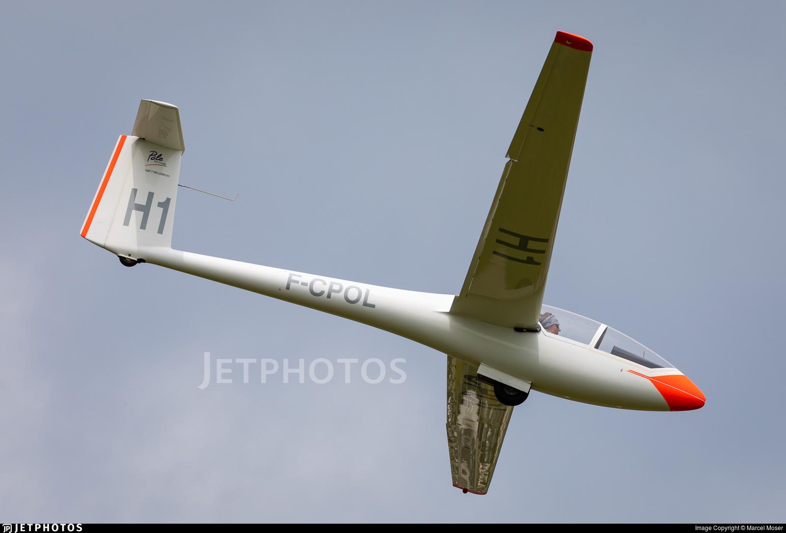 F-CPOL - Glasflugel 206 Hornet - Private