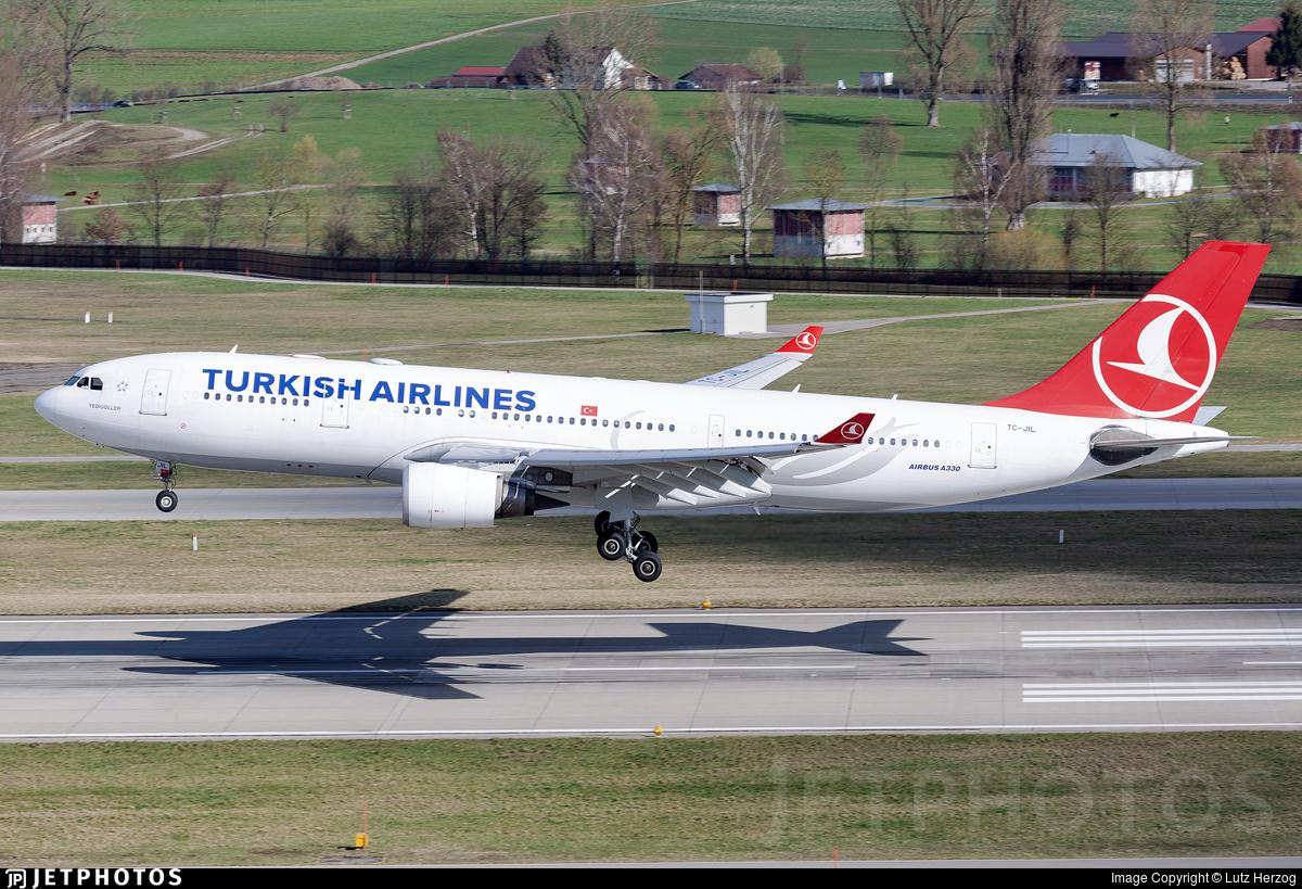 TC-JIL - Airbus A330-203 - Turkish Airlines