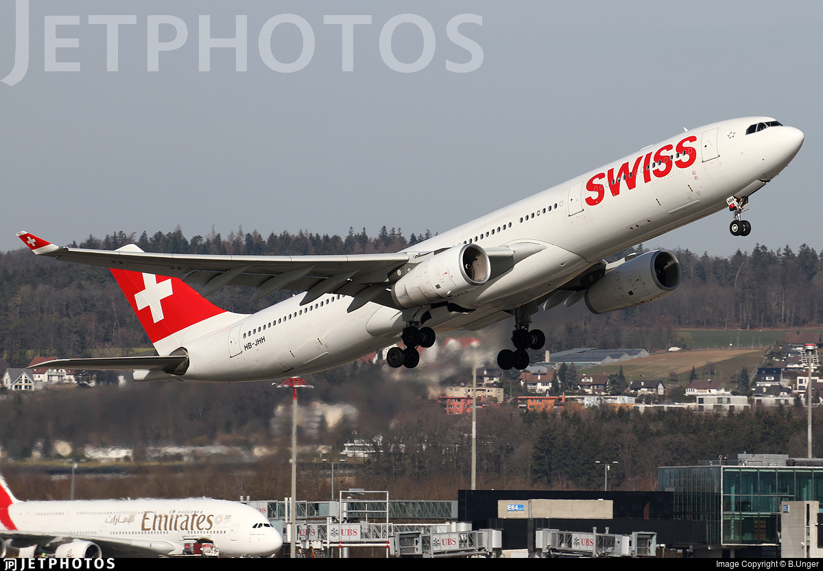 HB-JHH - Airbus A330-343 - Swiss