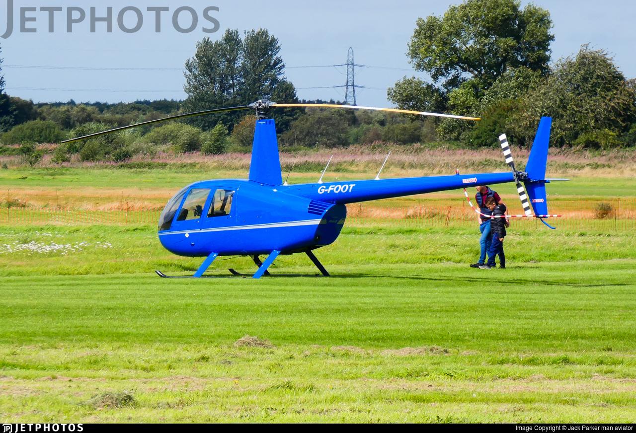 G-FOOT - Robinson R44 Raven - Private