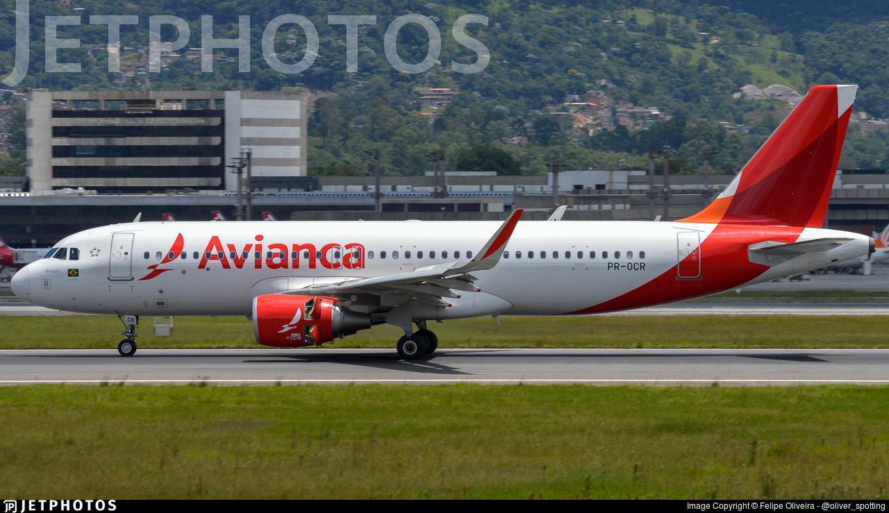 PR-OCR - Airbus A320-214 - Avianca Brasil