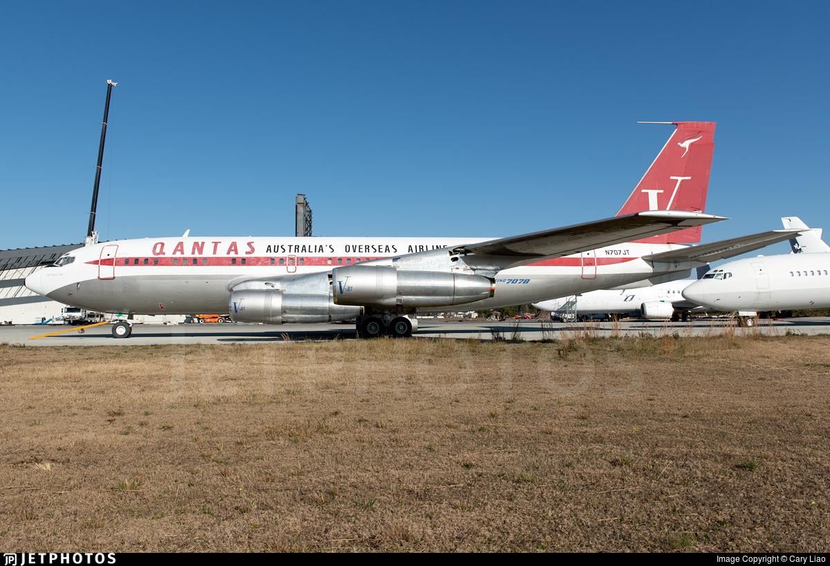 N707JT - Boeing 707-138B - Jett Clipper Johnny
