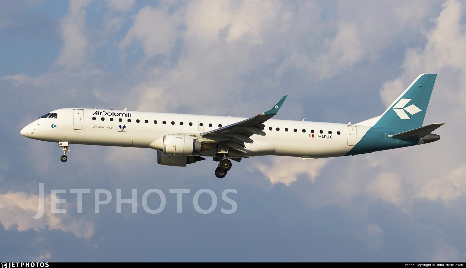 I-ADJX - Embraer 190-200LR - Air Dolomiti