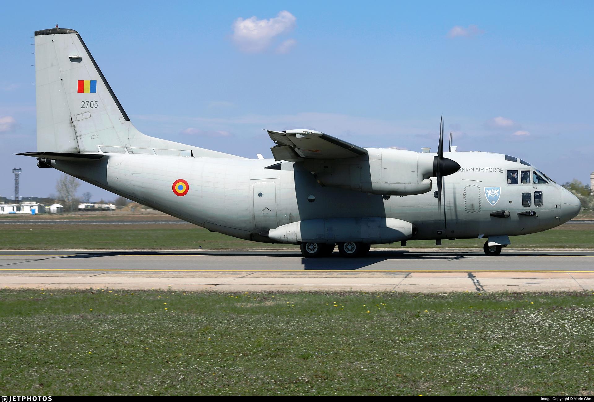 2705 - Alenia C-27J Spartan - Romania - Air Force