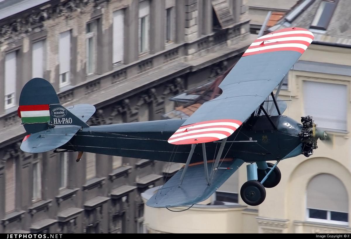 HA-PAO - Polikarpov PO-2 - Private