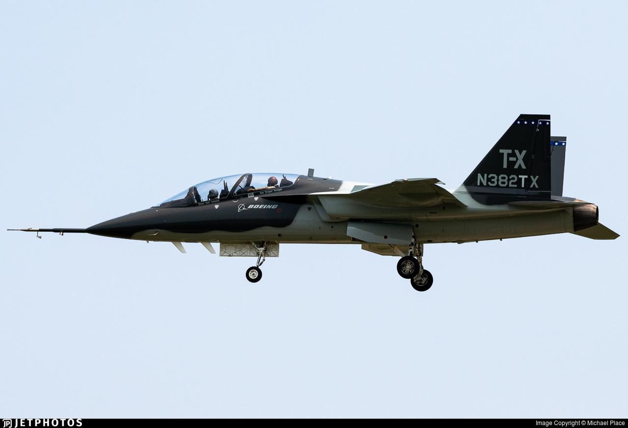 N382TX - Boeing T-7A Red Hawk - Boeing Company