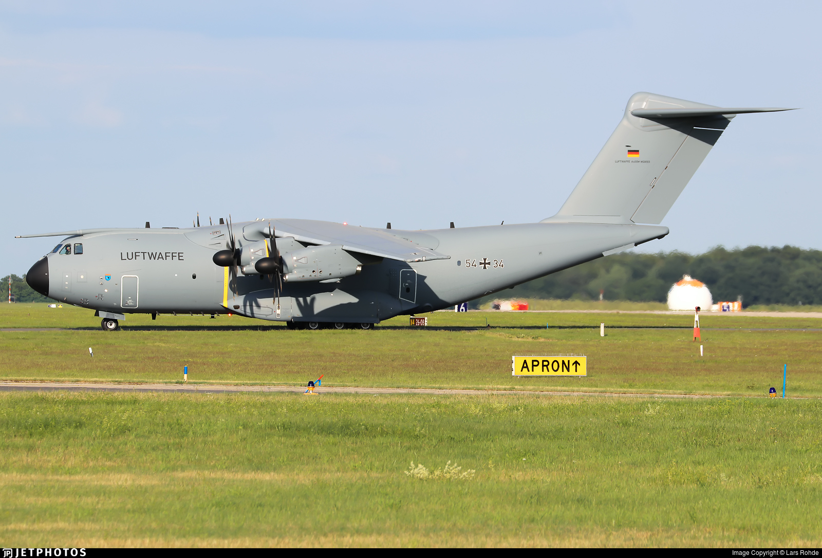 54-34 - Airbus A400M - Germany - Air Force