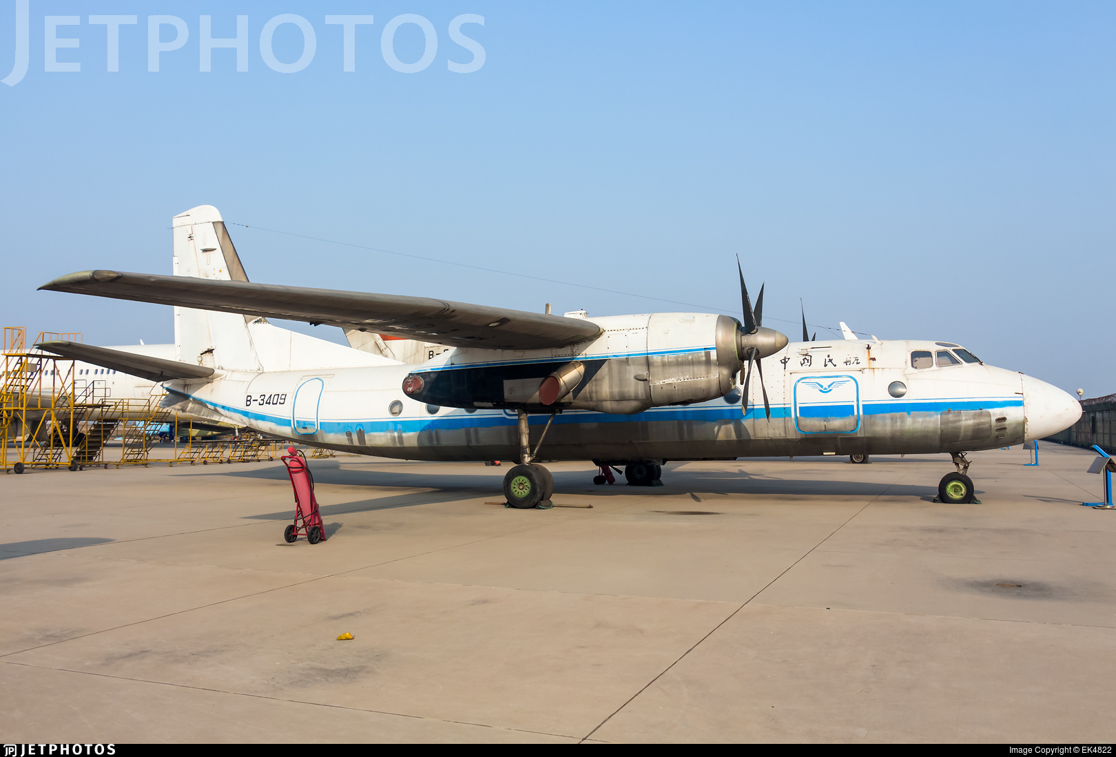 B-3409 - Antonov An-24B - Civil Aviation Administration of China (CAAC)
