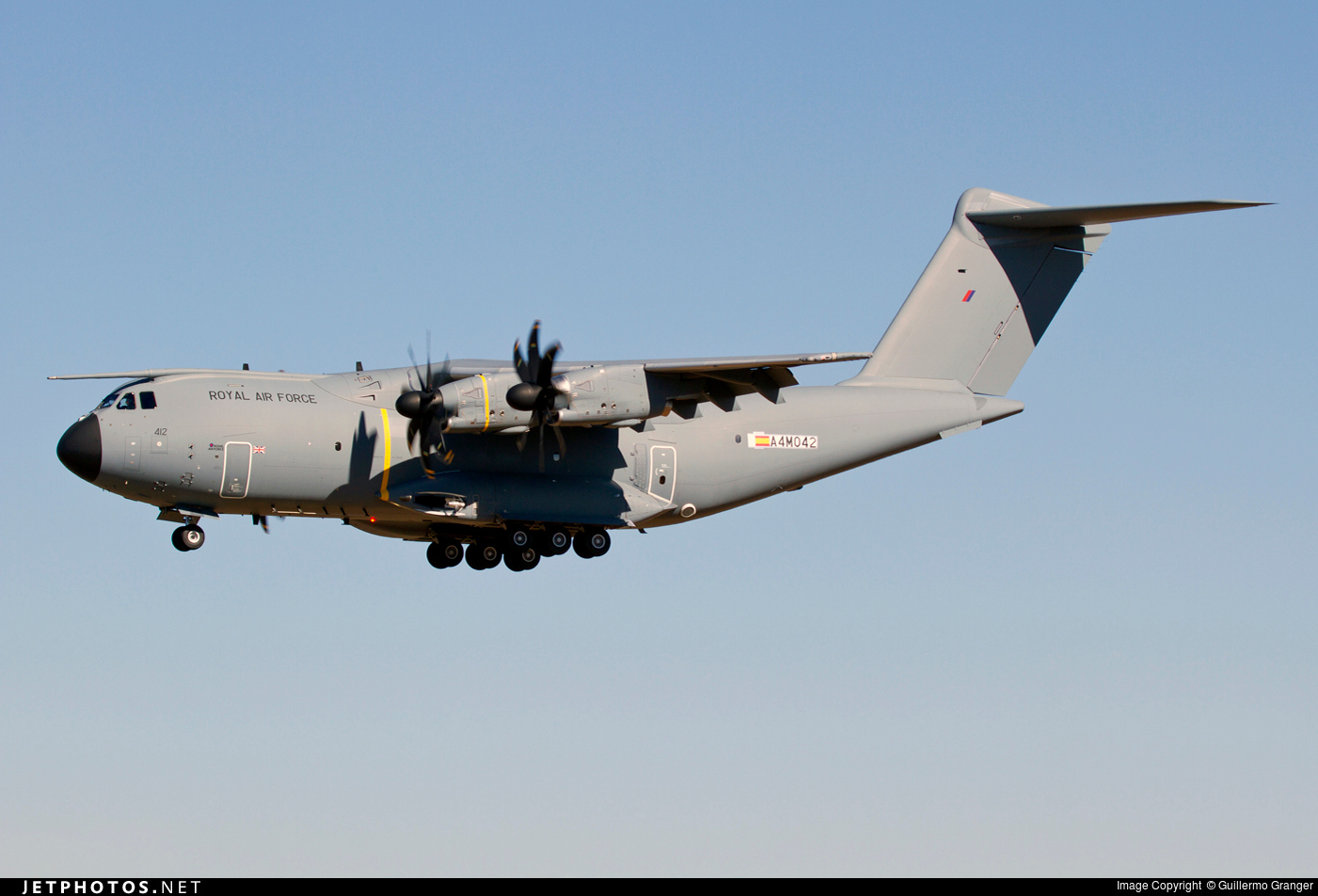 A4M042 - Airbus A400M - United Kingdom - Royal Air Force (RAF)