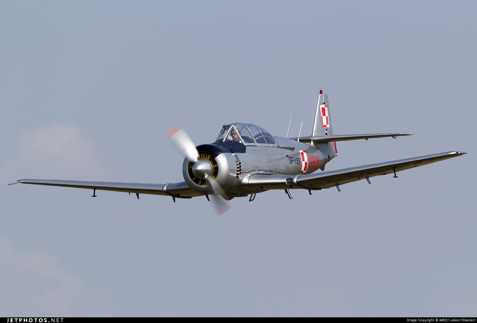 SP-YSS - PZL-Mielec TS-8 Bies - Silvair