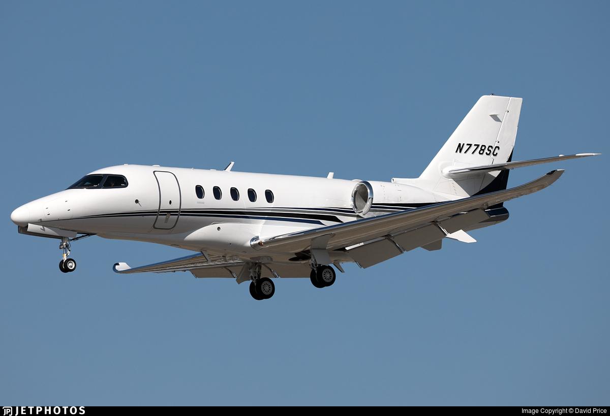 N778SC - Cessna Citation Latitude - Private