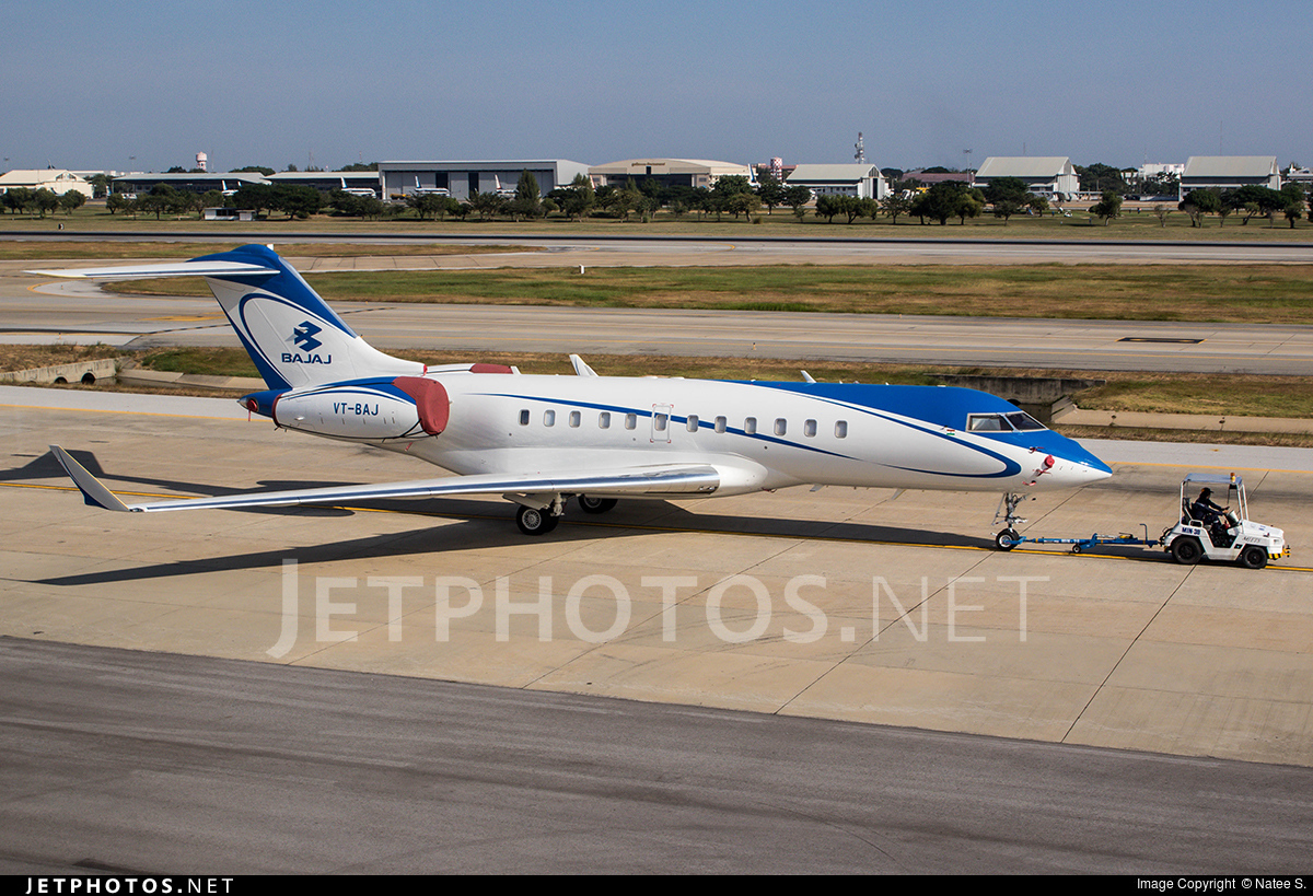 VT-BAJ - Bombardier BD-700-1A11 Global 5000 - Private
