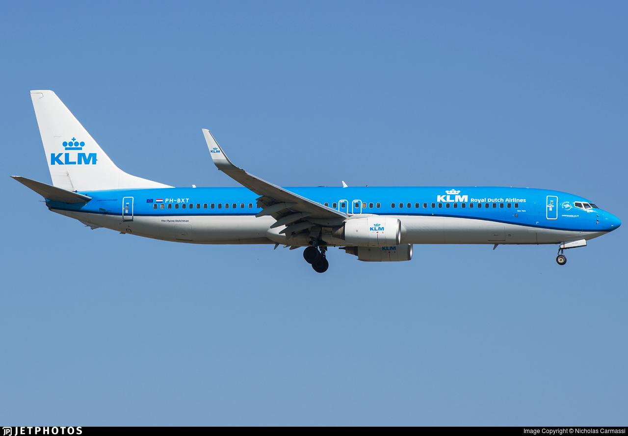 PH-BXT - Boeing 737-9K2 - KLM Royal Dutch Airlines