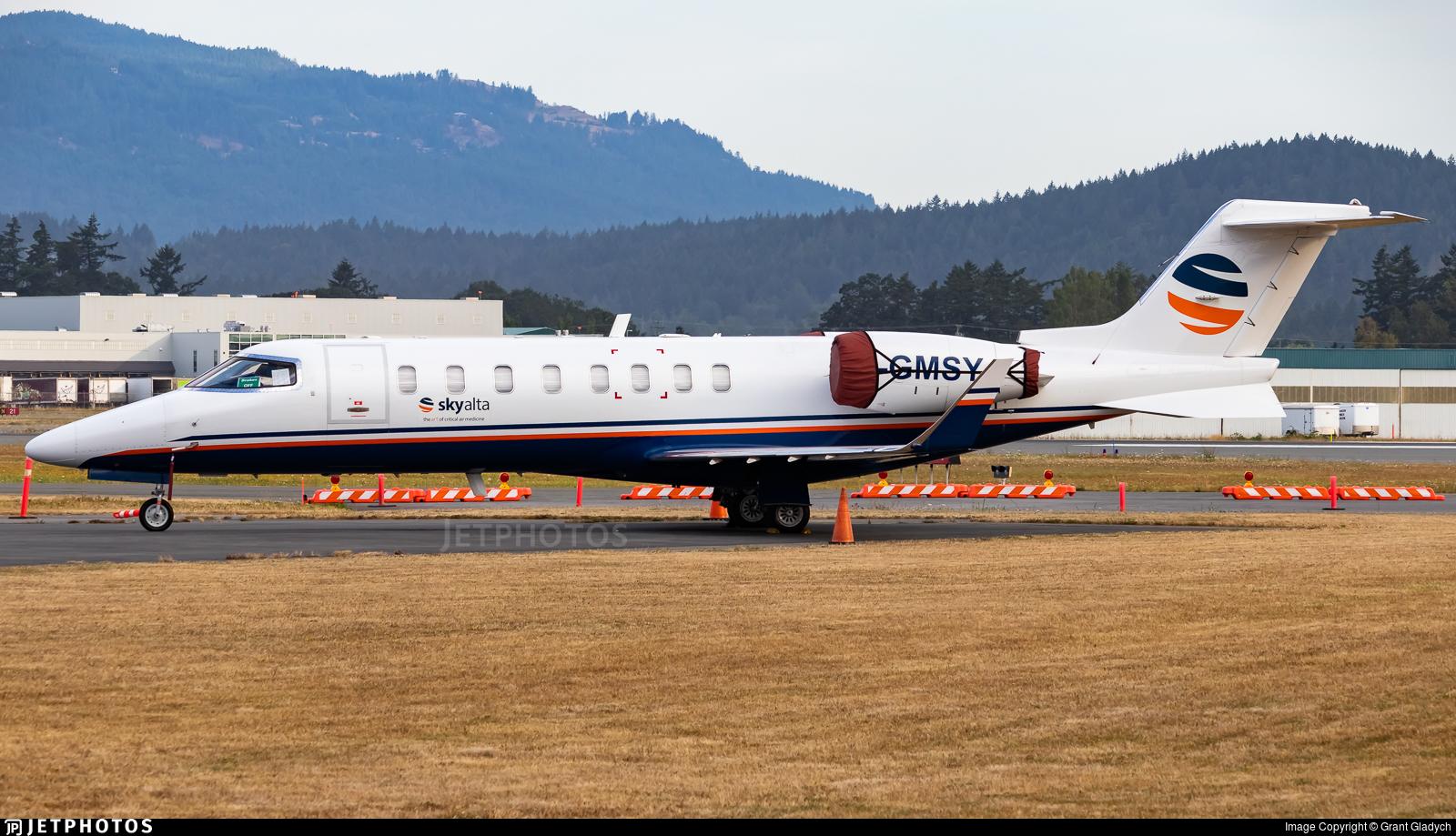 C-GMSY - Bombardier Learjet 45 - Aviation Starlink
