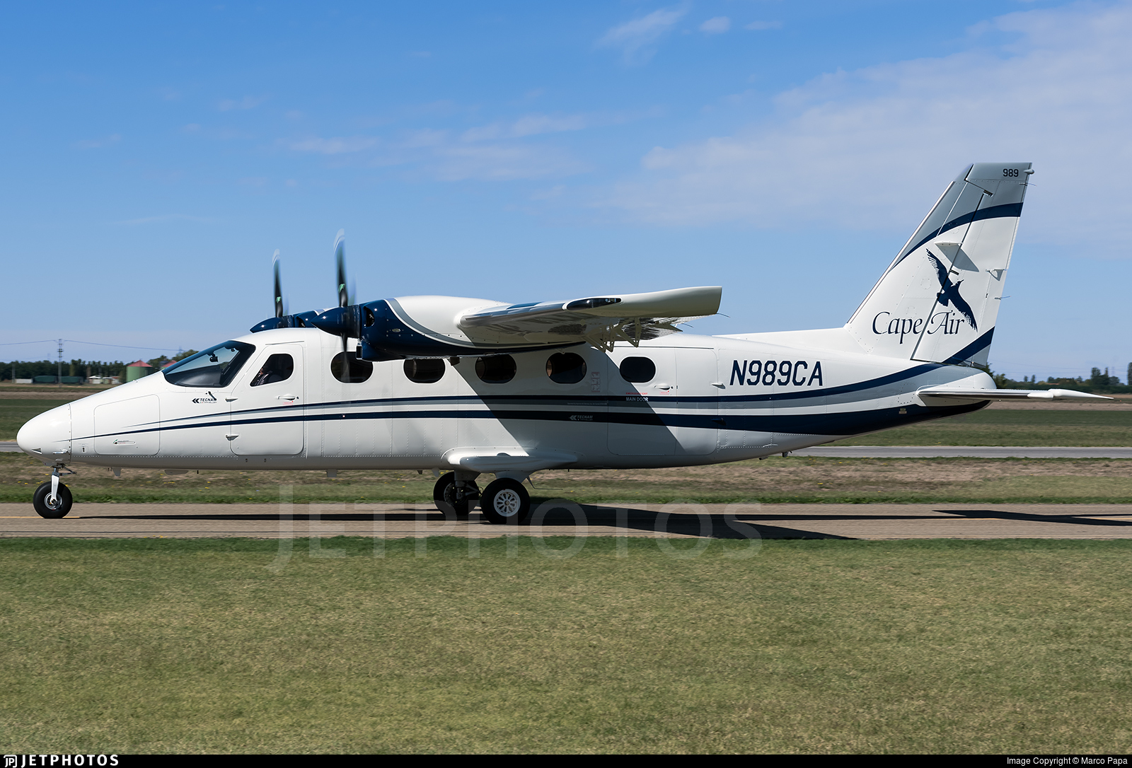 N989CA - Tecnam P2012 Traveller - Cape Air