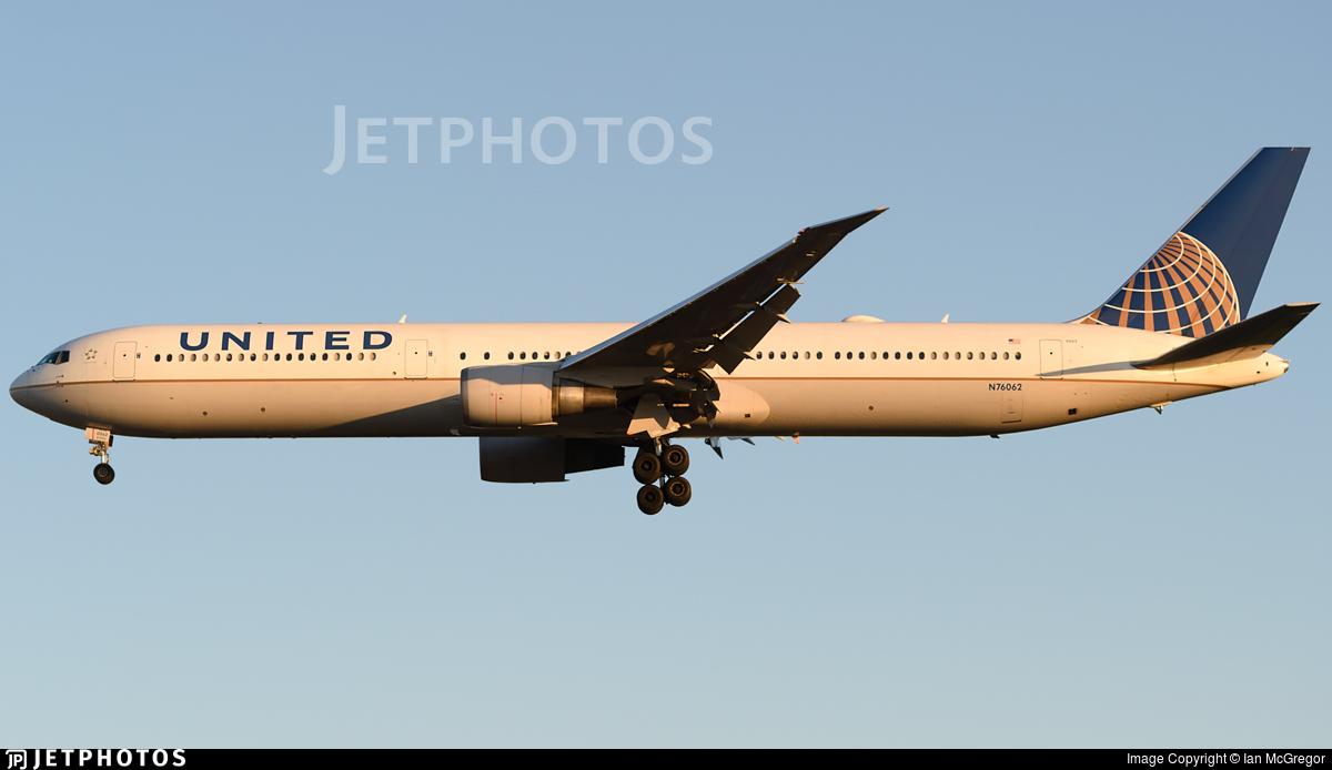 N76062 - Boeing 767-424(ER) - United Airlines