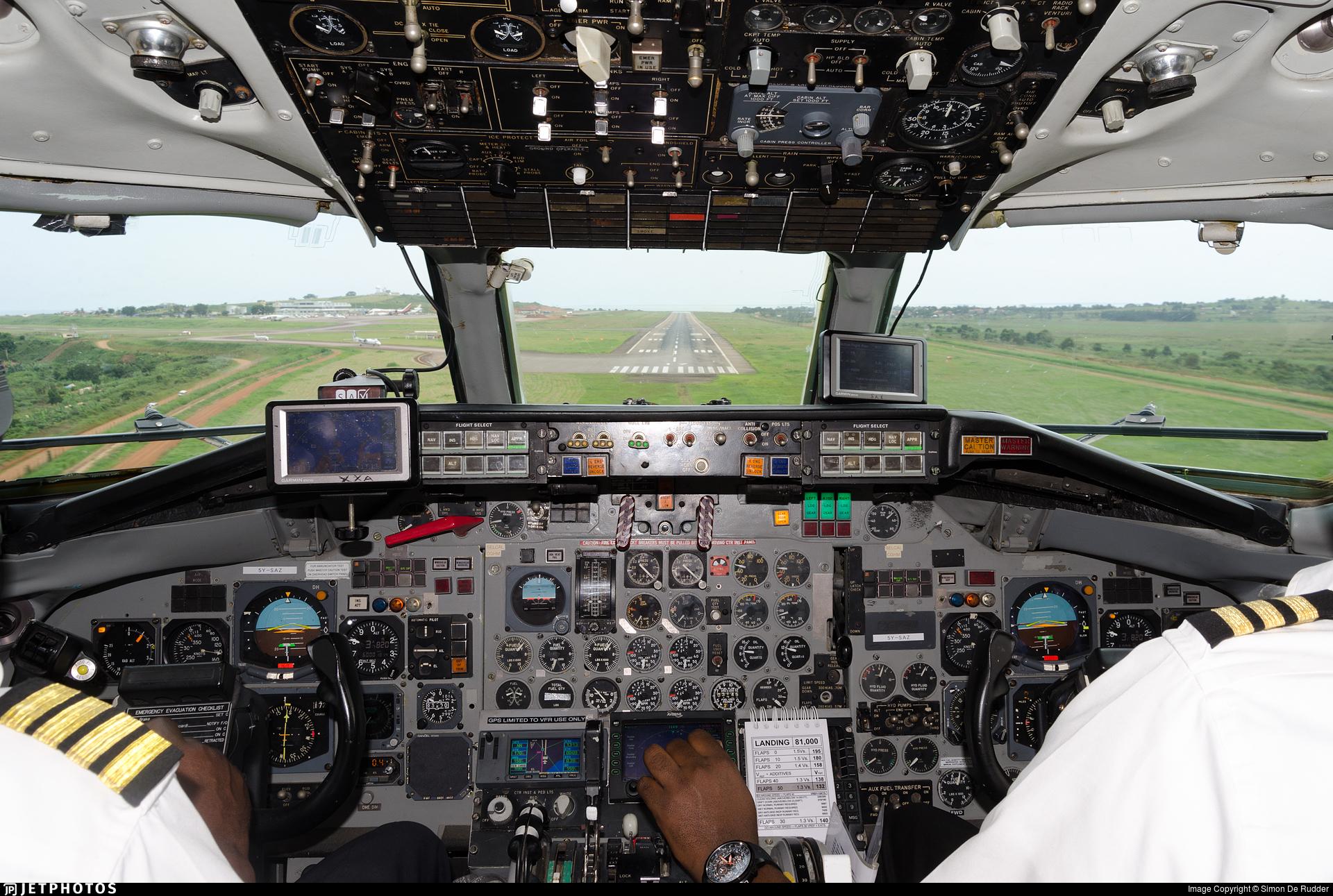 5Y-SAZ - McDonnell Douglas DC-9-14 - East African Safari Air Express