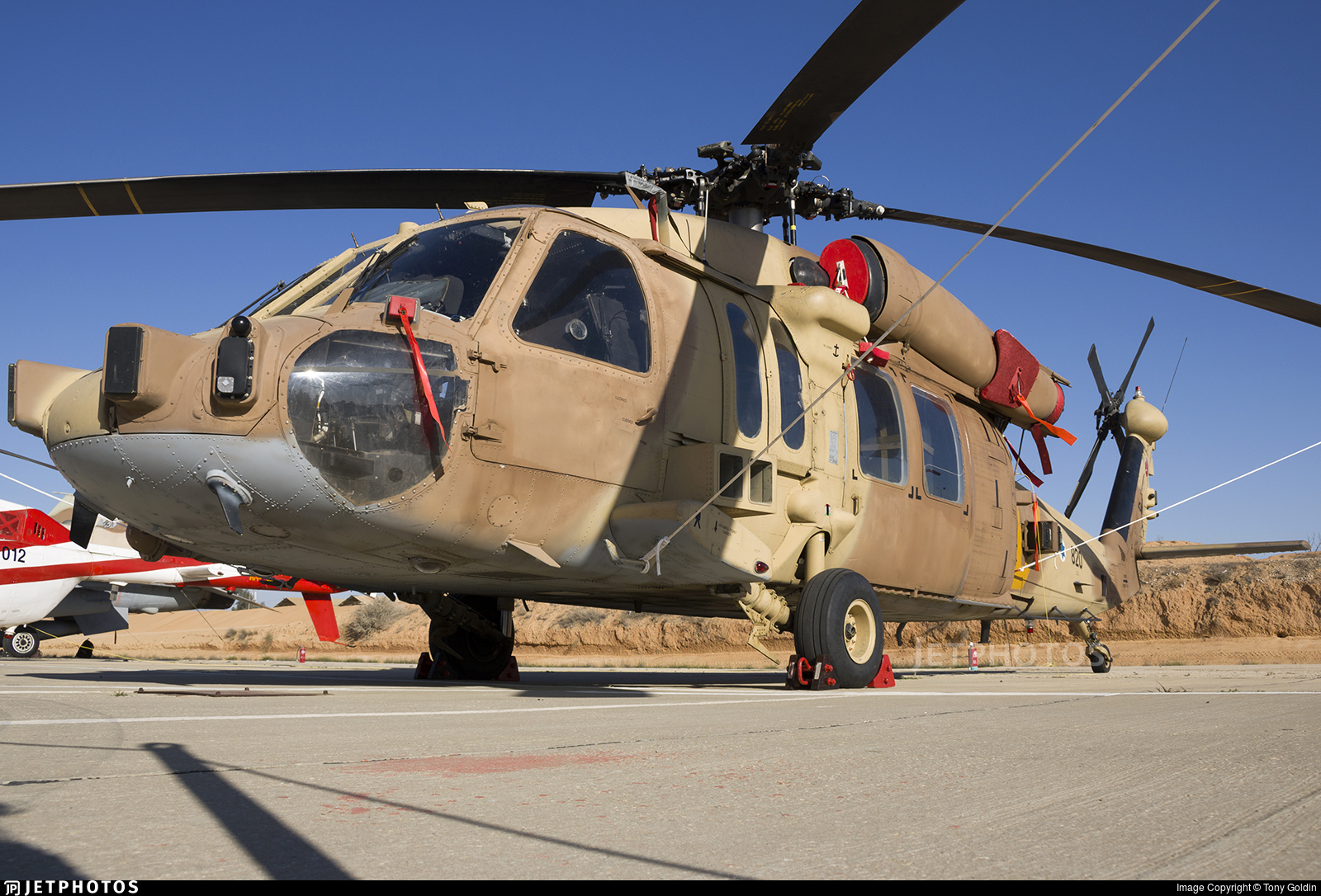 820 - Sikorsky S-70A-55 Yanshuf 3 - Israel - Air Force