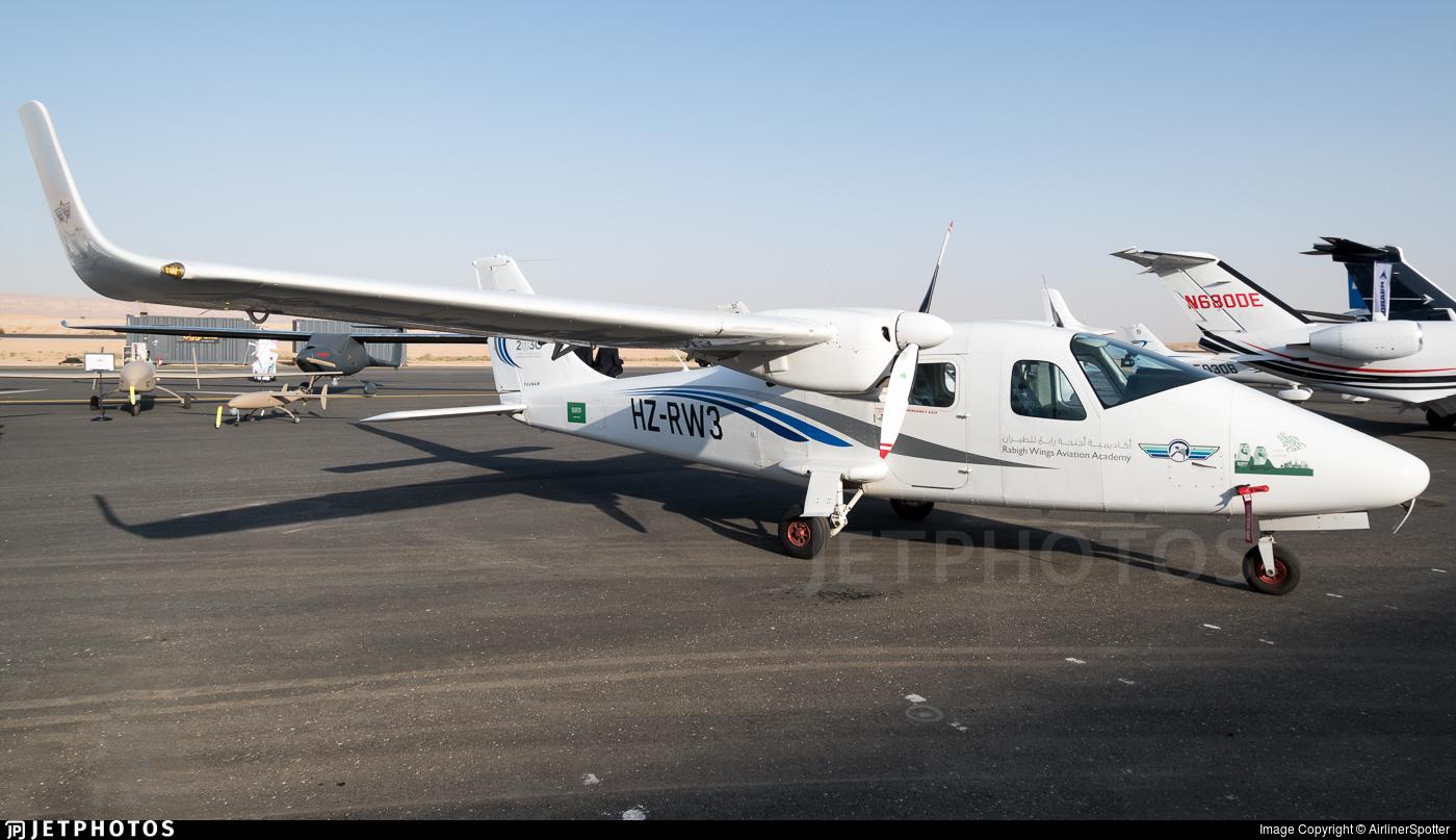 HZ-RW3 - Tecnam P2006T - Rabigh Wings Aviation Academy
