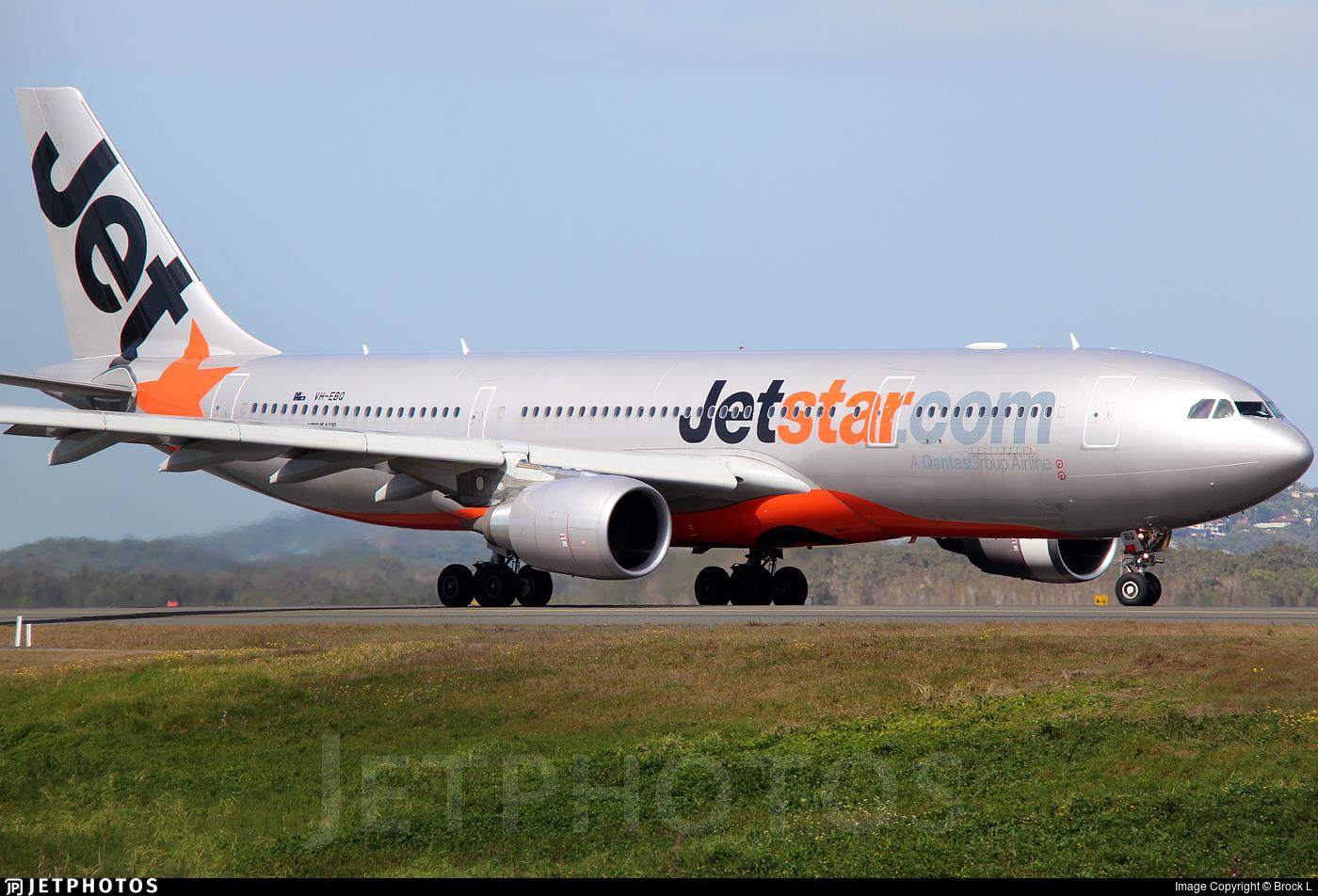 VH-EBQ - Airbus A330-202 - Jetstar Airways