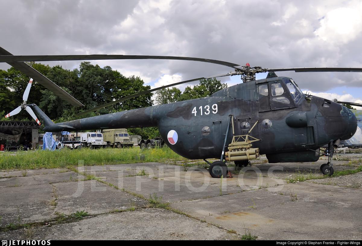 4139 - Mil Mi-4 Hound - Czech Republic - Air Force