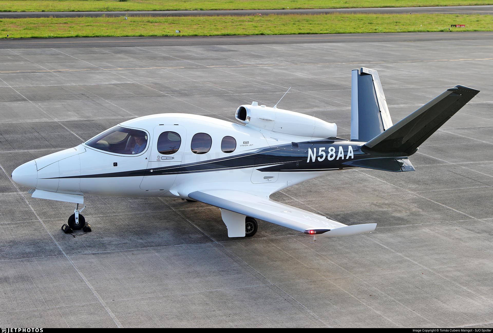 N58AA - Cirrus Vision SF50 G2 - Private