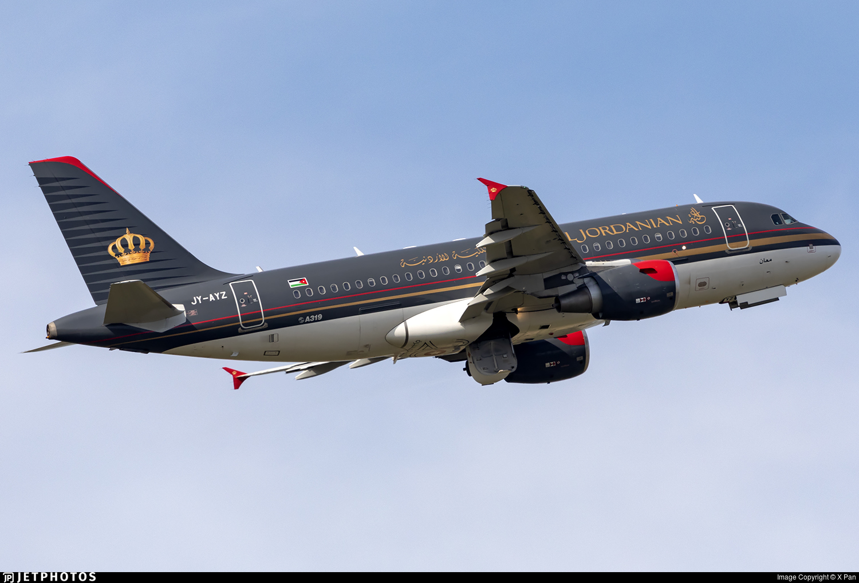 JY-AYZ | Airbus A319-111 | Royal