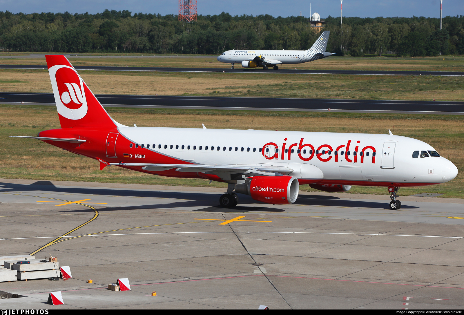 D-ABNU - Airbus A320-214 - Air Berlin