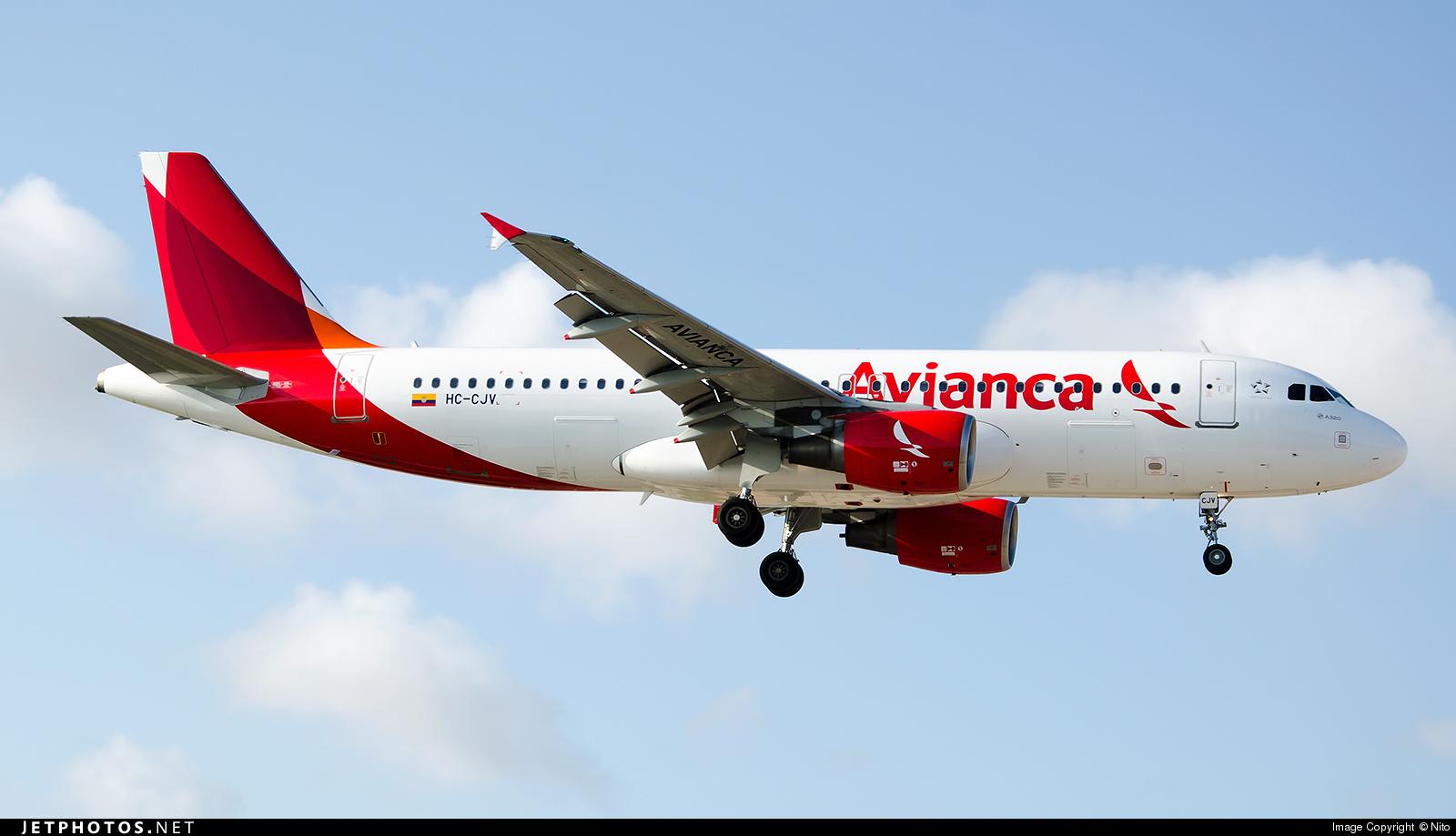 HC-CJV - Airbus A320-214 - Avianca Ecuador