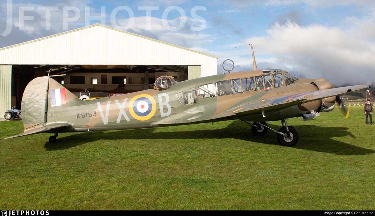 ZK-RRA - Avro 652A Anson Mk.1 - Private