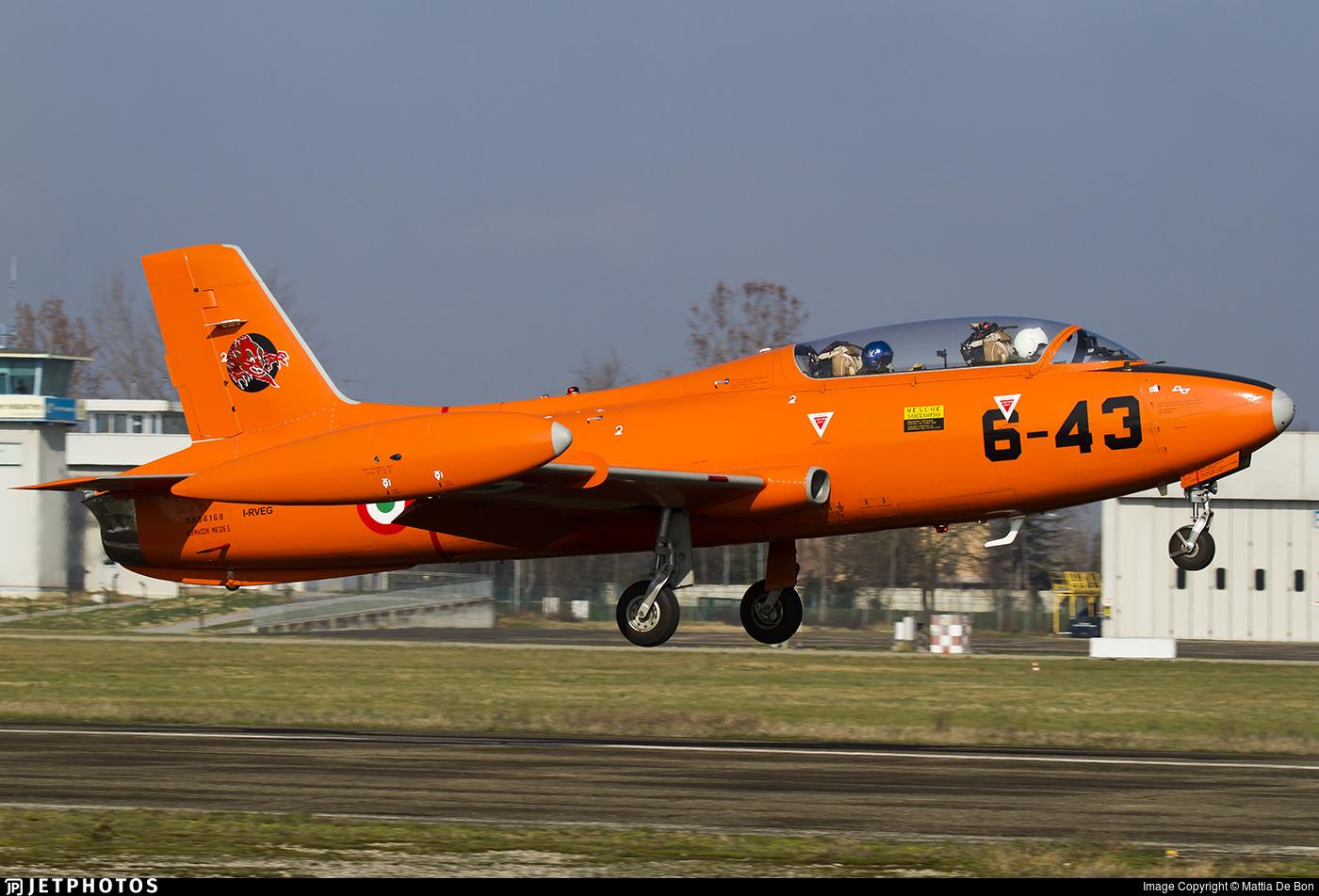I-RVEG - Aermacchi MB-326E - Private