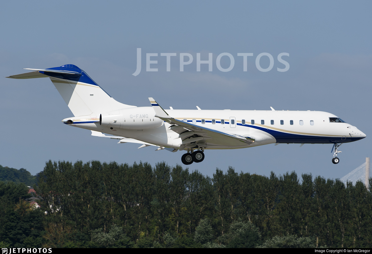 G-FAMG - Bombardier BD-700-1A11 Global 5000 - Private